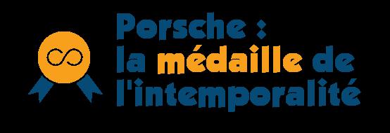 Porsche medaille