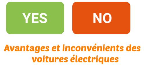 avantages inconvenients voitures electriques