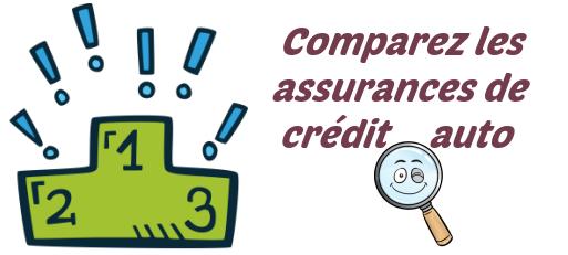 comparer assurance credit auto