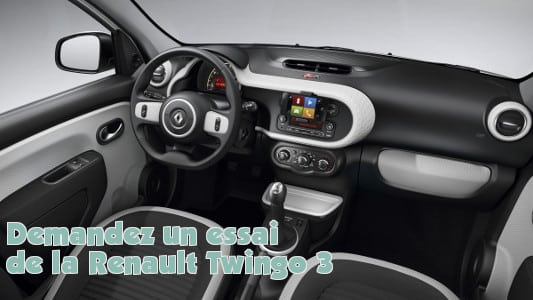 renault twingo 3 pr sentation et demande d 39 essai de la petite citadinne. Black Bedroom Furniture Sets. Home Design Ideas