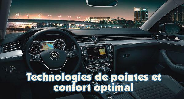 volkswagen passat technologies