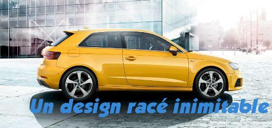 Audi A3 design
