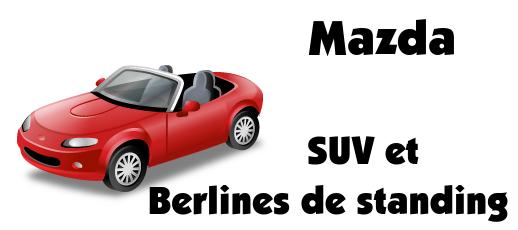 Mazda vehicules
