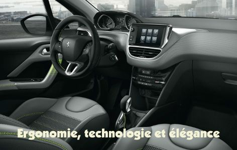 Peugeot 208 habitacle