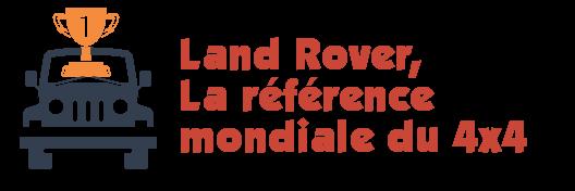 classement land rover