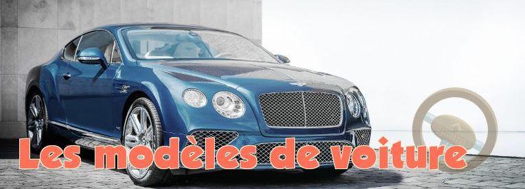 modele voiture