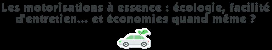 motorisation essence