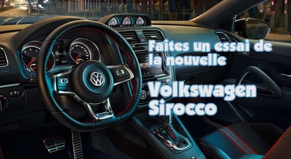 reserver essai volkswagen sirocco